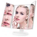 grossiste Informatique et Telecommunications: Grossissement du miroir cosmétique éclairé par LED