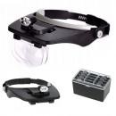 groothandel Consumer electronics: Hoofdloep precisie bril sterk 2x led draad