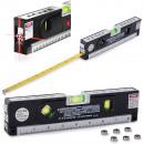 Niveau laser avec une règle 250cm mesurer les pouc
