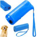 Odstraszacz psów ultradźwiękowy treser latarka 3w1