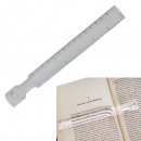 15 cm lupa linijka do czytania powiększenie 2,5 5x