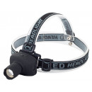 LED head lamp 3 functions strobe adjustment