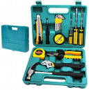 Jeu d'outils, tournevis, marteau, 16 pièces, c