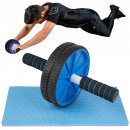 wholesale Sports & Leisure: Exercise roller double wheel roller wheel + mat