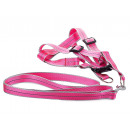 Harness for a cat dog + 2.5 cm reflective leash