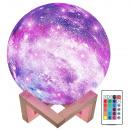 mayorista Electronica de ocio: Lámpara de luna de noche luz de luna 3d rgb con co