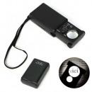 Großhandel Geschäftsausstattung: Jubil Taschenlupe. UV ausziehbare LED 30x 60x