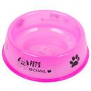 Bol en plastique pour chat chien pour nourriture 0