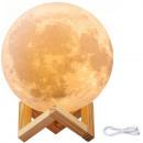 Night lamp glowing moon 3d moon light 8cm