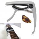 Großhandel Musikinstrumente: Metal Capo für klassische Gitarre + Pick