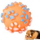 hurtownia Ogrod & Majsterkowanie: Zabawka dla psa piszcząca gryzak piłka guma kolory