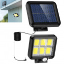 ingrosso Giardinaggio & Bricolage: Lampada solare a 120 led con sensore di movimento
