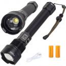Bailong lampe de poche police militaire cree XHP70