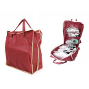 Shoe bag, footwear organizer for 6 pairs of travel