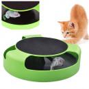 mayorista Jardin y Bricolage: Juguete para gatos en círculo con un ratón, rascad