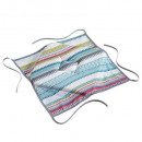 Chair Pillow with 4 flaps, 36 x 36 x 3.5 cm,