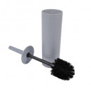 wholesale Bath Furniture & Accessories: hammered plastic toilet brush urban light gray