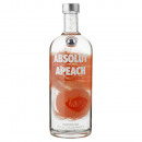grossiste Aliments et boissons: Vodka Absolut Apeach 1,00 Litre 40º (R) 1.00 L.