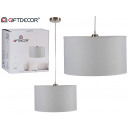 lampe suspension plafond 35cm blanc