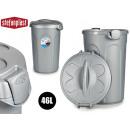 ingrosso Pulizia: Bidone della spazzatura in plastica da 46 ...