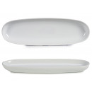 wholesale Crockery: thin white porcelain oval tray