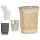 plastic laundry basket 55l, colors 4 ve