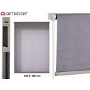 mayorista Casa y decoración:estor gris 180x180 cm