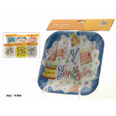 wholesale Household & Kitchen: set of 10 square dishes birthday assorted