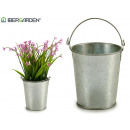 small bucket with zinc handle