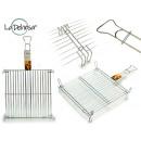 wholesale Barbecue & Accessories: double grill zincada 50 x 50 cm