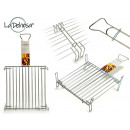 wholesale Barbecue & Accessories: double grill zincada 35 x 35 cm