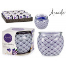 scented candle glass jar ar tart