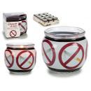 Großhandel Raumsprays & Duftöle: Duftkerze Glas Anti Tabak