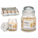jar candle with small lid ice cream and gal