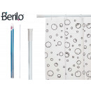 wholesale Bath & Towelling: white extendable shower curtain rod