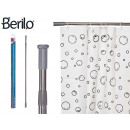 wholesale Bath & Towelling: aluminum extendable shower curtain rod