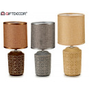 baroque cylindrical ceramic table lamp 3 times s