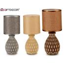 hurtownia Mieszkanie & Dekoracje: ceramiczna lampa stołowa conica abstrakcyjna 3 raz