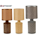 ceramic table lamp cylinder abstra 3 times surt