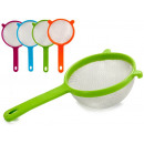 wholesale Kitchen Utensils: strainer 12 cm assorted colors 4