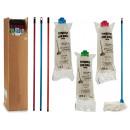 mop with stick 120cm viscose 150gr 3co