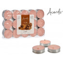 set of 30 tea light cinnamon candles