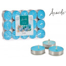 set of 30 tea light ocean candles