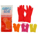 wholesale Cleaning: plastic gloves size xl 4 times assorted