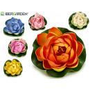 mayorista Regalos y papeleria: flor goma eva flotante d10cm, colores 6 veces surt