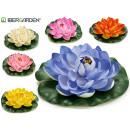 mayorista Regalos y papeleria: flor goma eva flotante d20cm, colores 6 veces surt