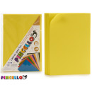 set of 10 sheets yellow eva rubber 20x30cm