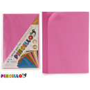 set of 10 sheets eva rubber pink 20x30cm