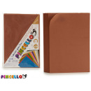 set of 10 sheets eva rubber brown 20x30cm