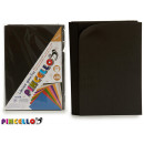 set of 10 sheets eva rubber black 20x30cm